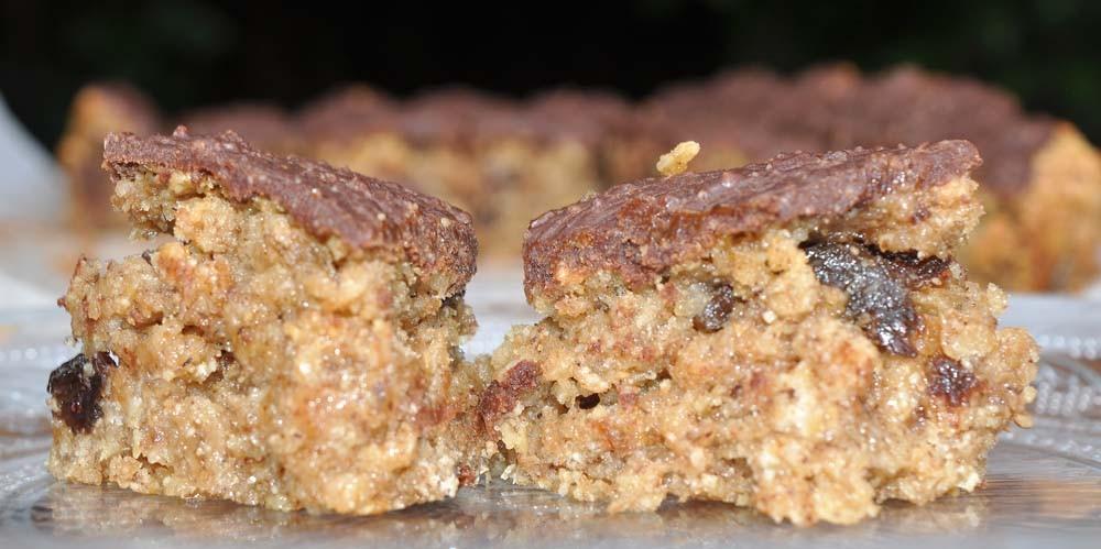 Hazelnut-Chocolate-Smoothie-Flapjacks