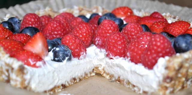 Raw Berry Tart