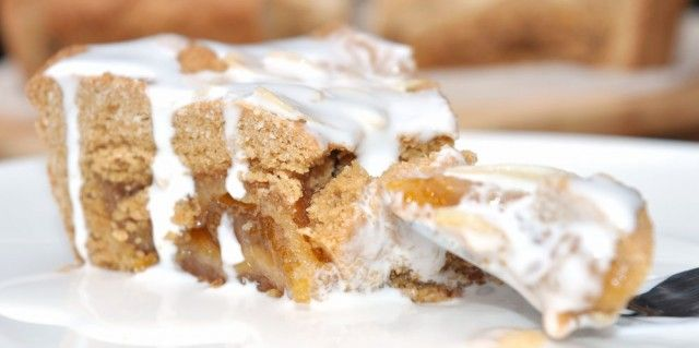 Almond and Apricot Shortcake