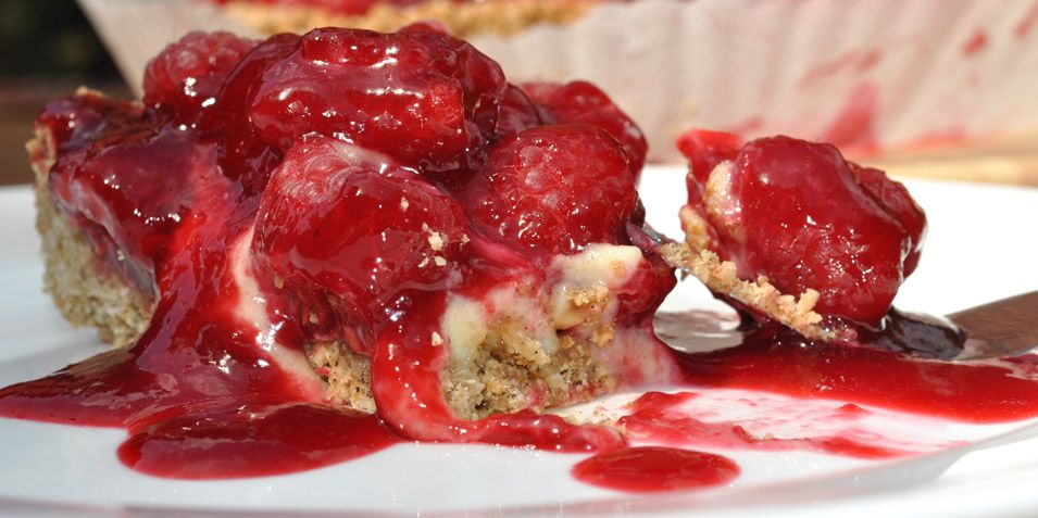Strawberry Cream Pie - Laura's Naturally Sweet Blog