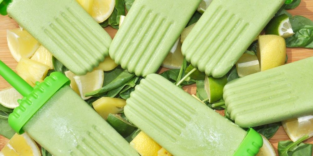Lemon and Lime Ice Lollies