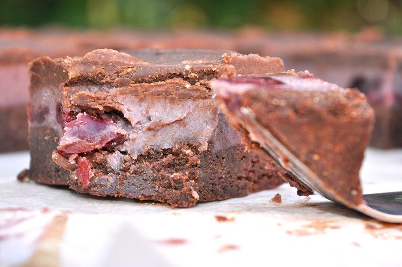 Cherry Garcia Chocolate Brownies 0007