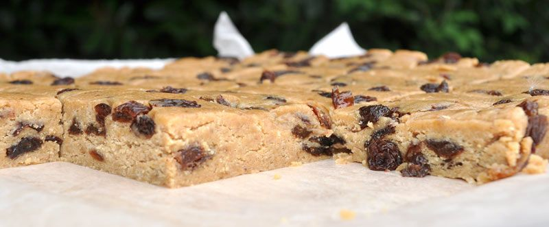 No Bake Peanut Butter Energy Bars