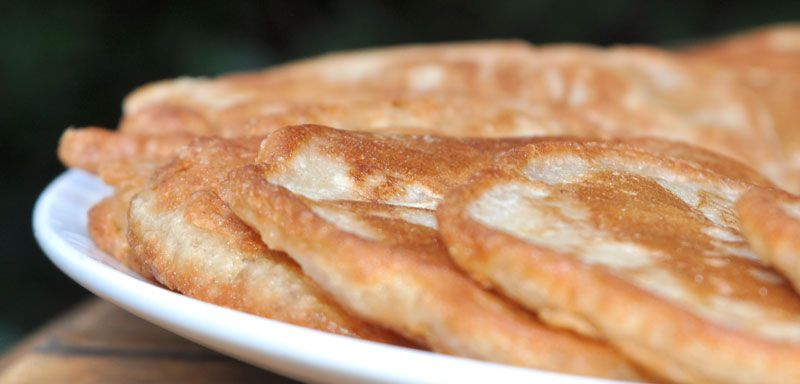 Hawaiian Macadamia Nut and Banana Pancakes