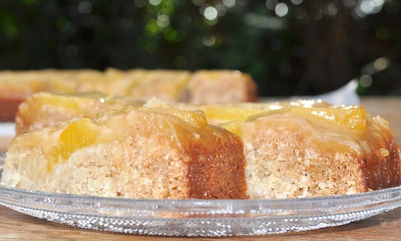 Hawaiian Pineapple and Coconut Upside Down Cake