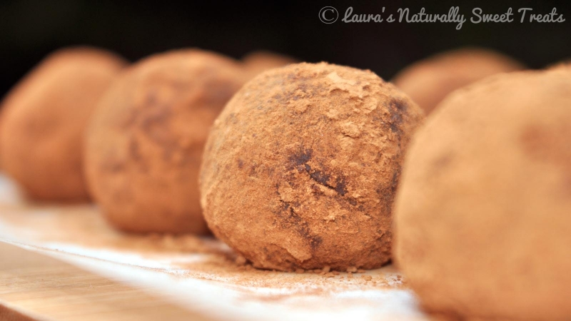 Ginger Nut Chocolate Truffles